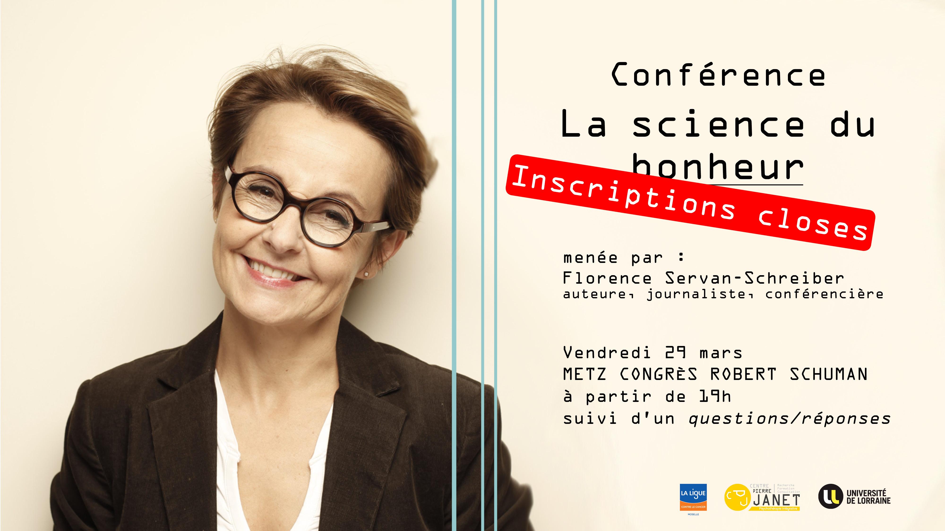 Conférence La science du bonheur